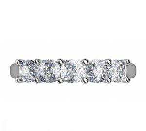Cushion Cut Diamond Engagement Ring 2 2