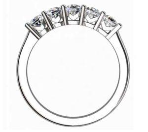 Cushion Cut Diamond Engagement Ring 3 2