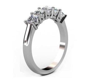 Cushion Cut Diamond Engagement Ring 4 2