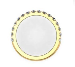 Cut Down Diamond Half Eternity Wedding Ring in Yellow Gold 3