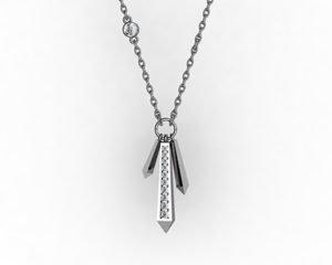 Diamond Crystals Pendant 1 2