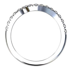 Fitted Cut Down Set Wedding Ring 4 2