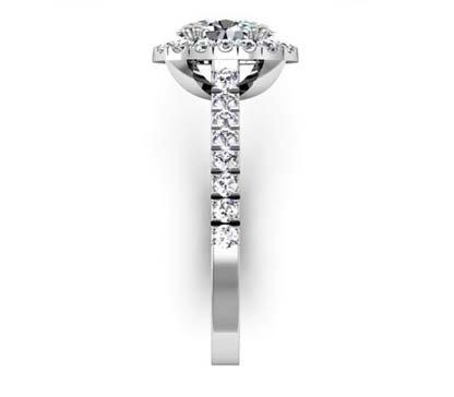 Oval Diamond Halo Engagement Ring 5 2