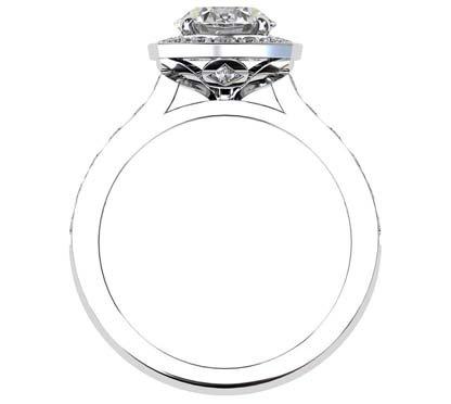 Round Brilliant Cut Diamond Engagement Ring 3 1 2