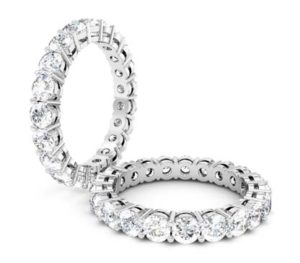 Round Brilliant Cut Diamond Eternity Band 1