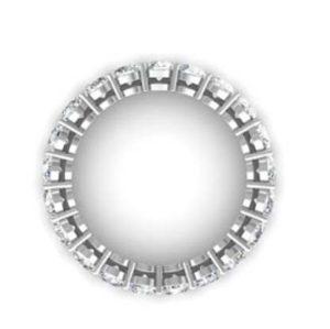 Round Brilliant Cut Diamond Eternity Band 3
