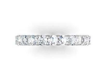 Round Brilliant Cut Diamond Eternity Band 4
