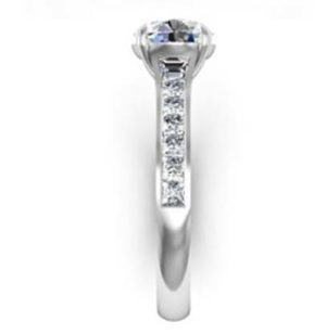 Two Carat Round Brilliant Cut Diamond Engagement Ring 5 2