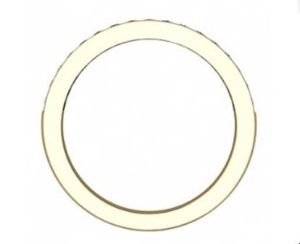 Yellow Gold Pave Set Diamond Half Eternity Band 3